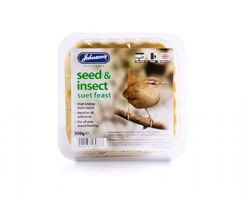 Seed & Insect Suet Feasts
